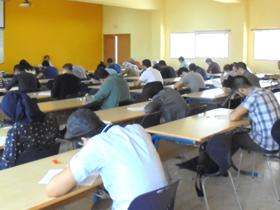 Scholarship Applicants under Examination